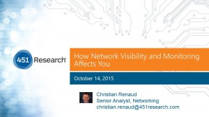 Network Visibility and Monitoring - webinar thumb