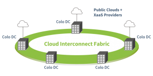 Cloud Interconnect Fabric Unifying Multi-site Data Centers
