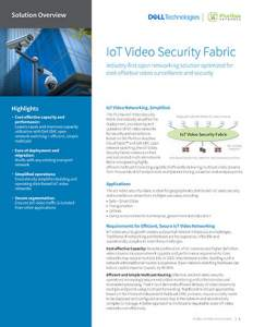 IoT Video Security Fabric