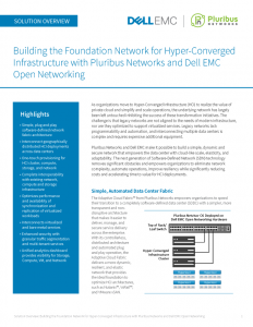 Dell EMC Hyper-Converged Infrastructure Solution Overview