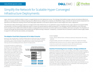 Dell EMC Hyper-Converged Infrastructure Solution Quick Look