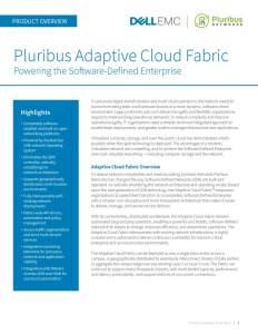 Pluribus Adaptive Cloud Fabric