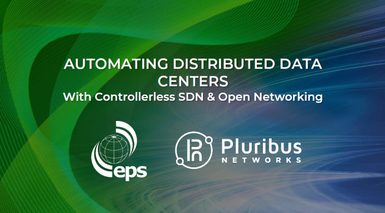 Automating Distributed Data Centers with Controllerless SDN and Open Networking