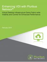 Enhancing VDI with Pluribus Netvisor