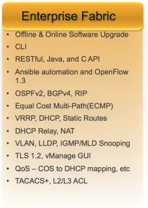 Enterprise Fabric Features
