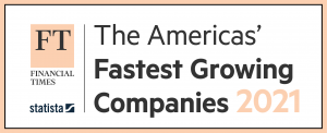 Financial Times and Statista: The Americas' Fastest Growing Companies 2021