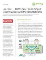Scavolini — Data Center and Campus Modernization with Pluribus Networks