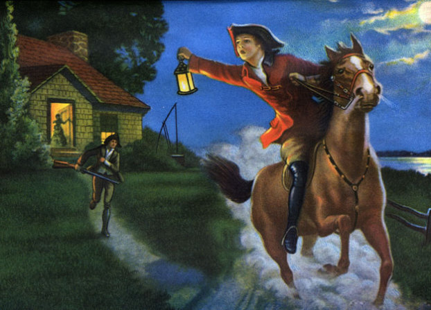 """Paul Revere says, """"The Network is Coming"""""""