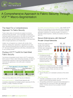 Macro-Segmentation for Security Solution Brief