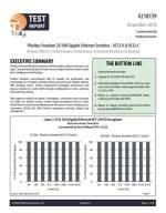 Tolly Test Report - Pluribus Freedom 25/100 Gigabit Ethernet Switches - 9572-V & 9532-C