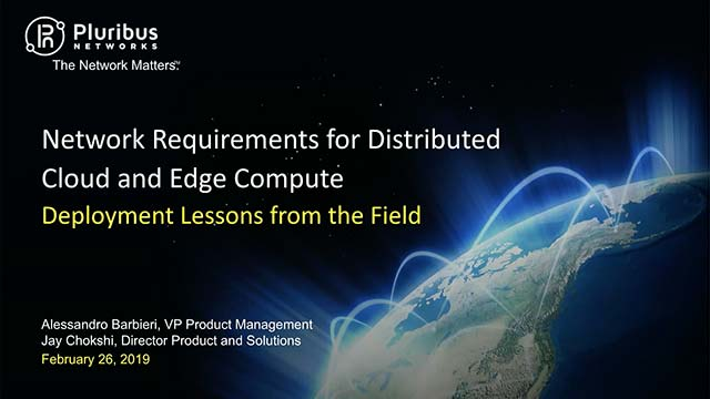Distributed Cloud and Edge Compute: Deployment Lessons from the Field