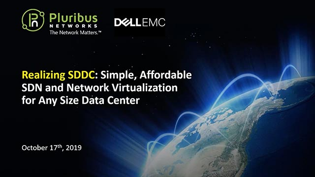 Realizing SDDC: Simple, Affordable SDN and Network Virtualization for Any Size Data Center