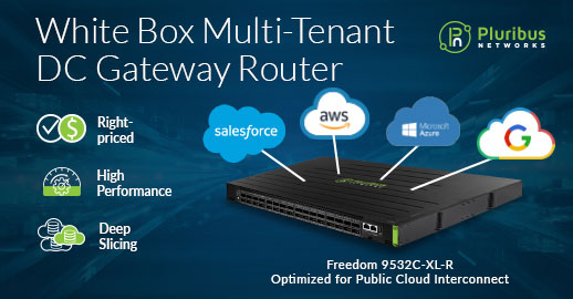 White Box Multi-tenant DC Gateway Router