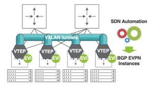 Bringing the Power of SDN Automation to BGP EVPN Overlays
