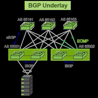 BGP Underlay