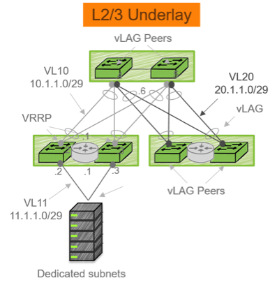 L2/3 Underlay