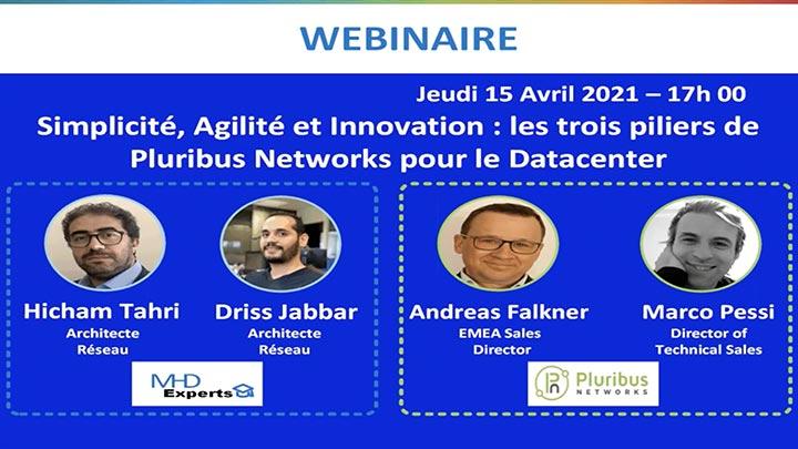 Webinar: Simplicité, Agilité et Innovation: les trois piliers de Pluribus Networks pour le Datacenter (French)